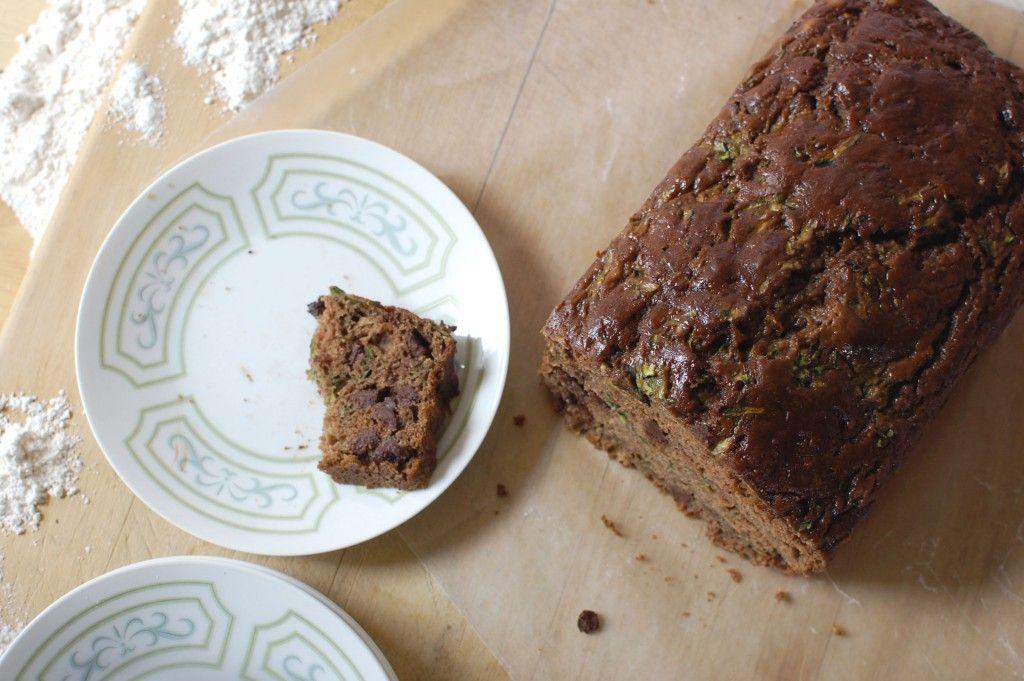 chocolate zucchini bread recipe | easy baking