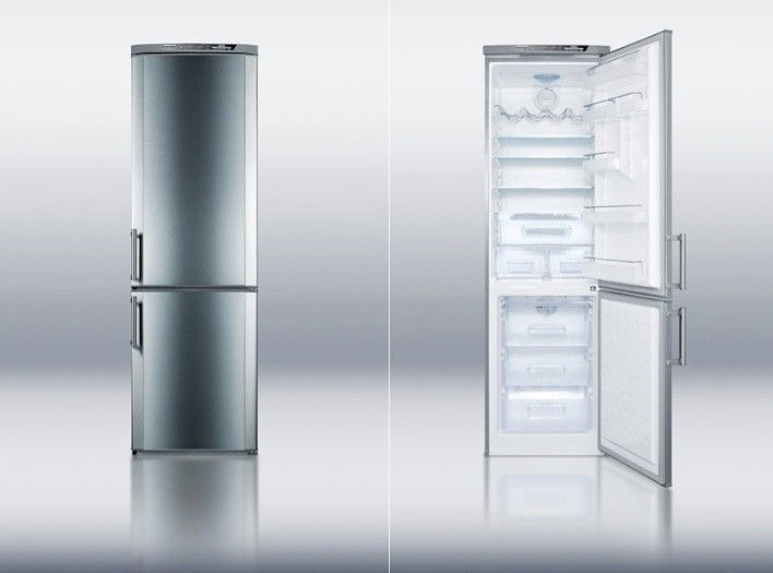 5 Favorites Skinny Refrigerators Remodelista Small Refrigerator Bottom Freezer Best Appliances