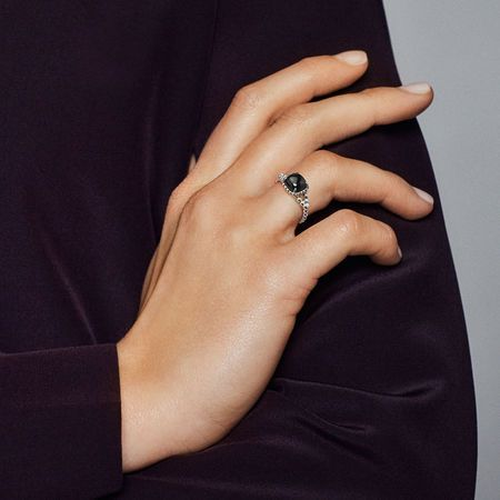 8a7dbc04a Vibrant Spirit Ring, Black Crystal | Girl's Best (Wearable) Friend ...