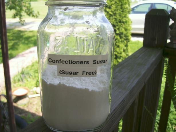 Confectioners Sugar Replacement For Diabetics Sugar Free