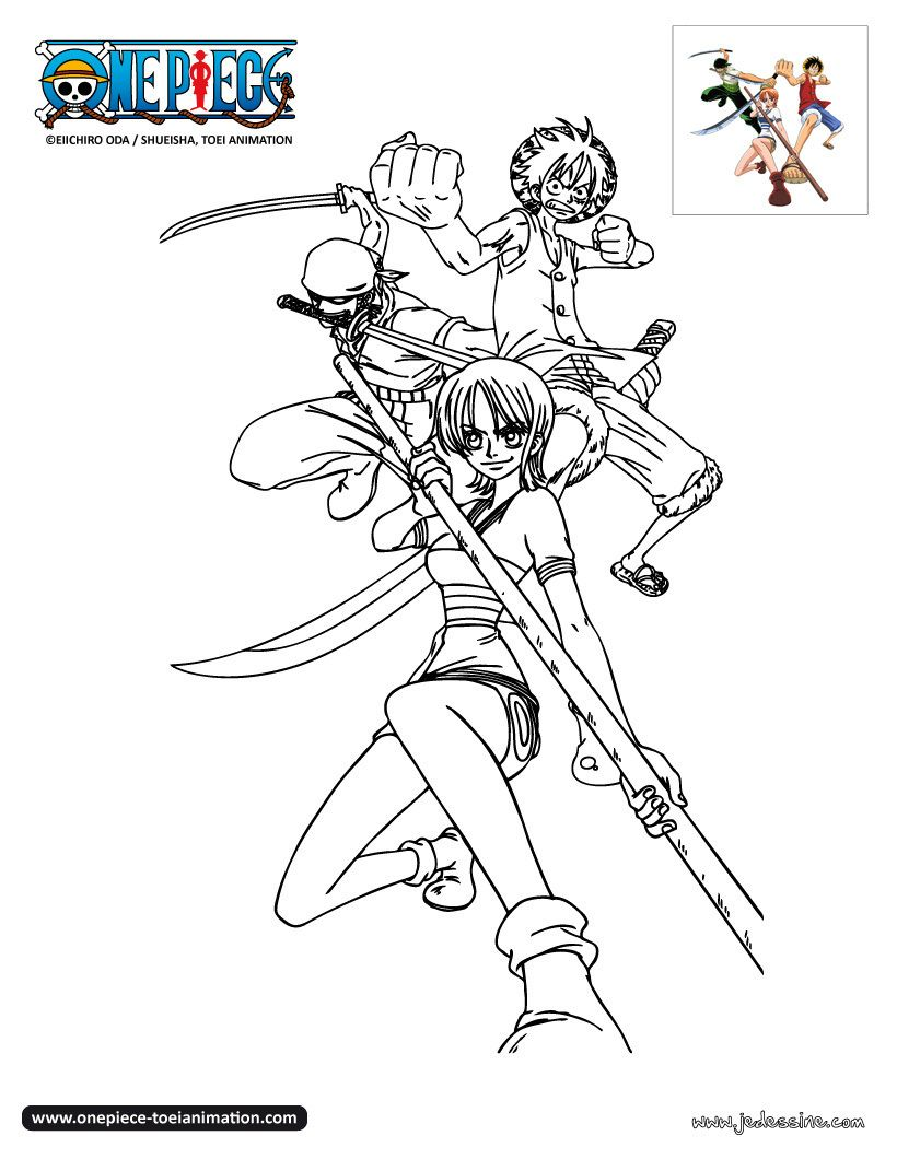 Coloriage one piece color one piece white picture - Coloriage one peace ...