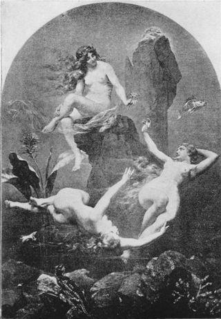 Las Doncellas del Rin o Hijas del Rin (en alemán Rheintöchter) son las tres ninfas de agua que aparecen en el ciclo operístico El anillo del nibelungo del compositor alemán Richard Wagner. Sus nombres individuales son Woglinda (Woglinde), Wellgunda (Wellgunde) y Flosilda (Floßhilde o Folsshilde), a pesar de que generalmente son tratadas como una sola entidad y de actuar en conjunto.