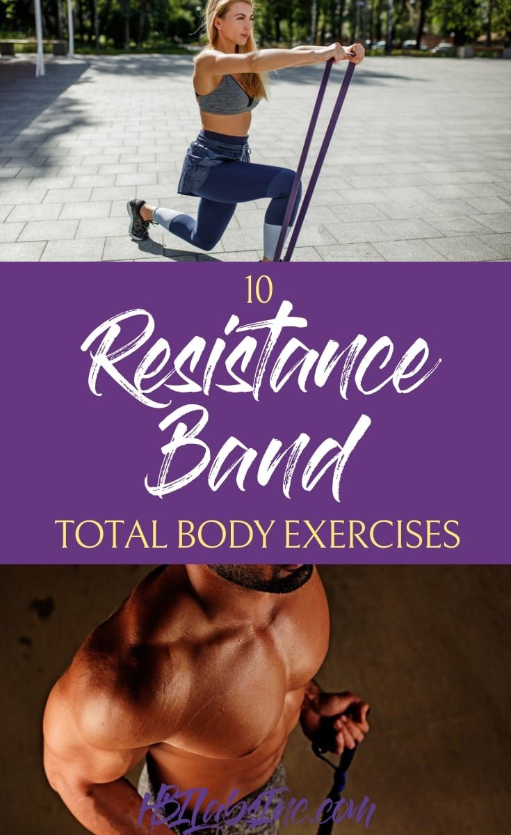 The best total body resistance band exercises will give you the toned body you've always wanted and...