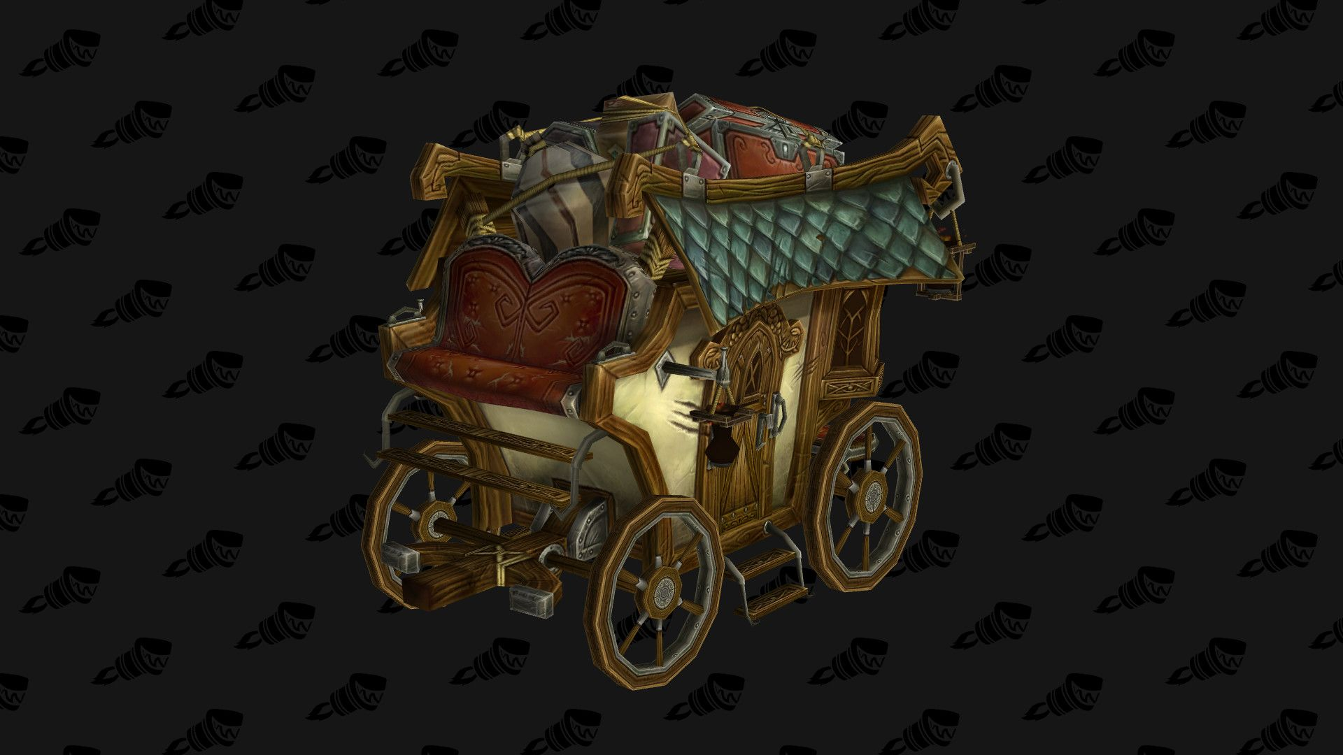 Stagecoach from World of Warcraft wagon cart carriage