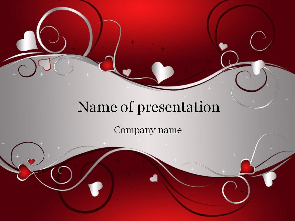 love day powerpoint template