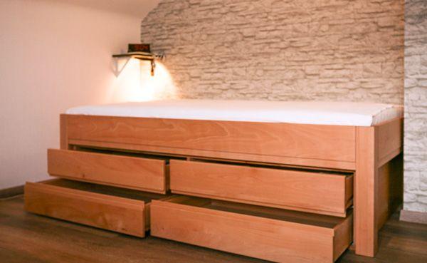 Schön Bett Mit Stauraum