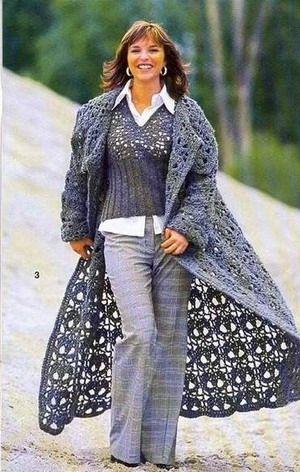 Crochet Coat Schemes Knitting And Crochet Pinterest Crochet