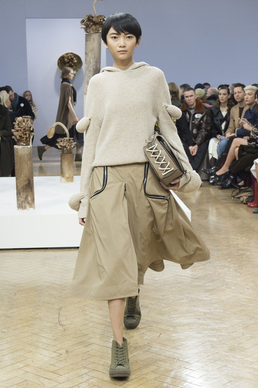 Fashion week Jw fall anderson runway review for lady