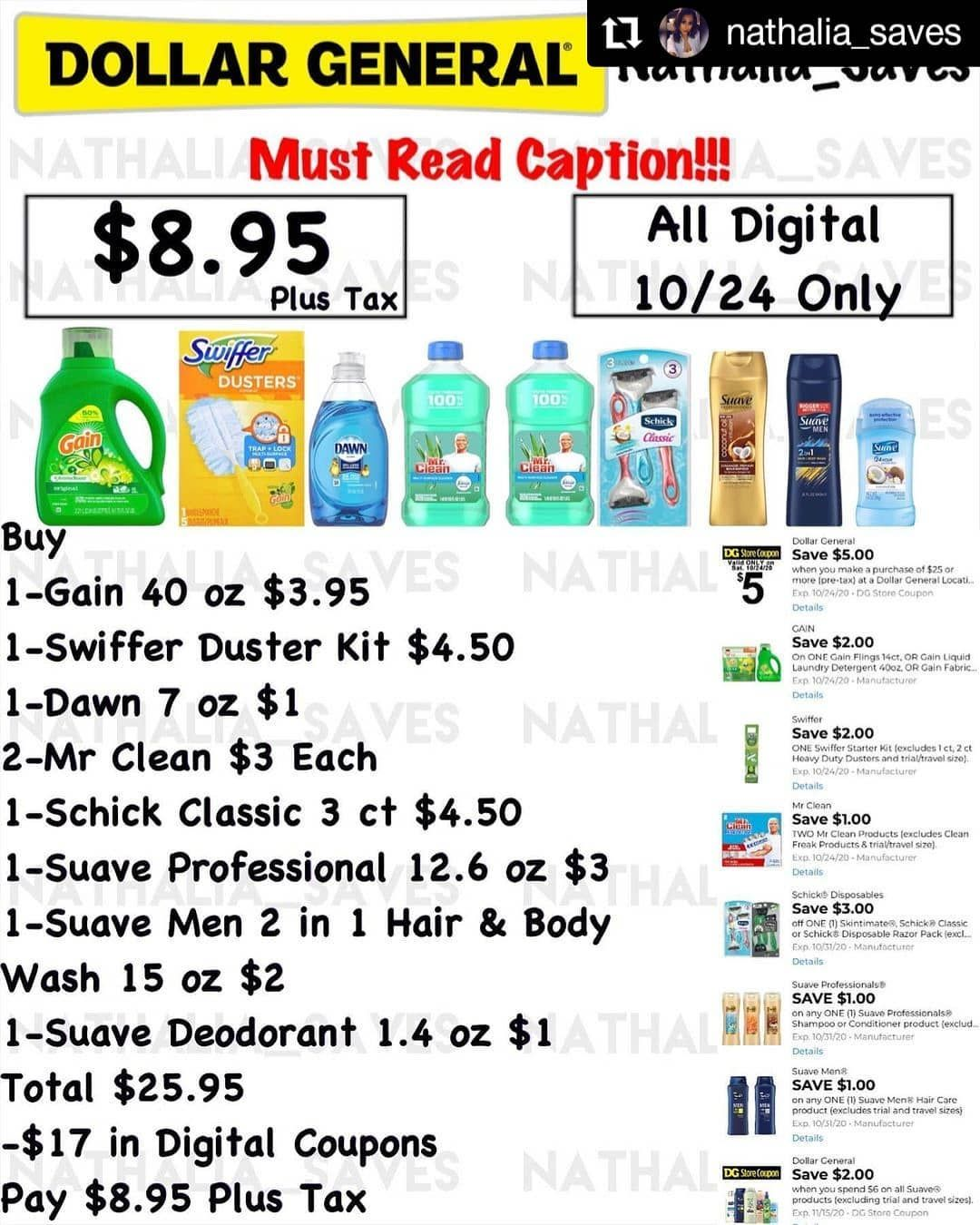 Amanda Coupon Deal Hunter On Instagram Repost Nathalia Saves Dollar General Do What Works For Digital Coupons Dollar General Coupon Deals