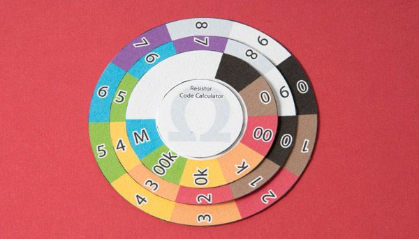 Resistor Color Wheel Electronics projects, Arduino and Tech - resistor color code chart