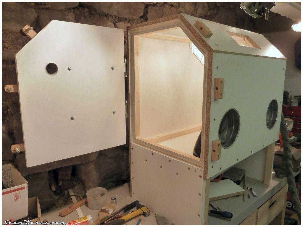 Homemade Sandblasting Cabinet Plans In 2020 Cabinet Plans Sandblasting Cabinet Kitchen Cabinet Plans