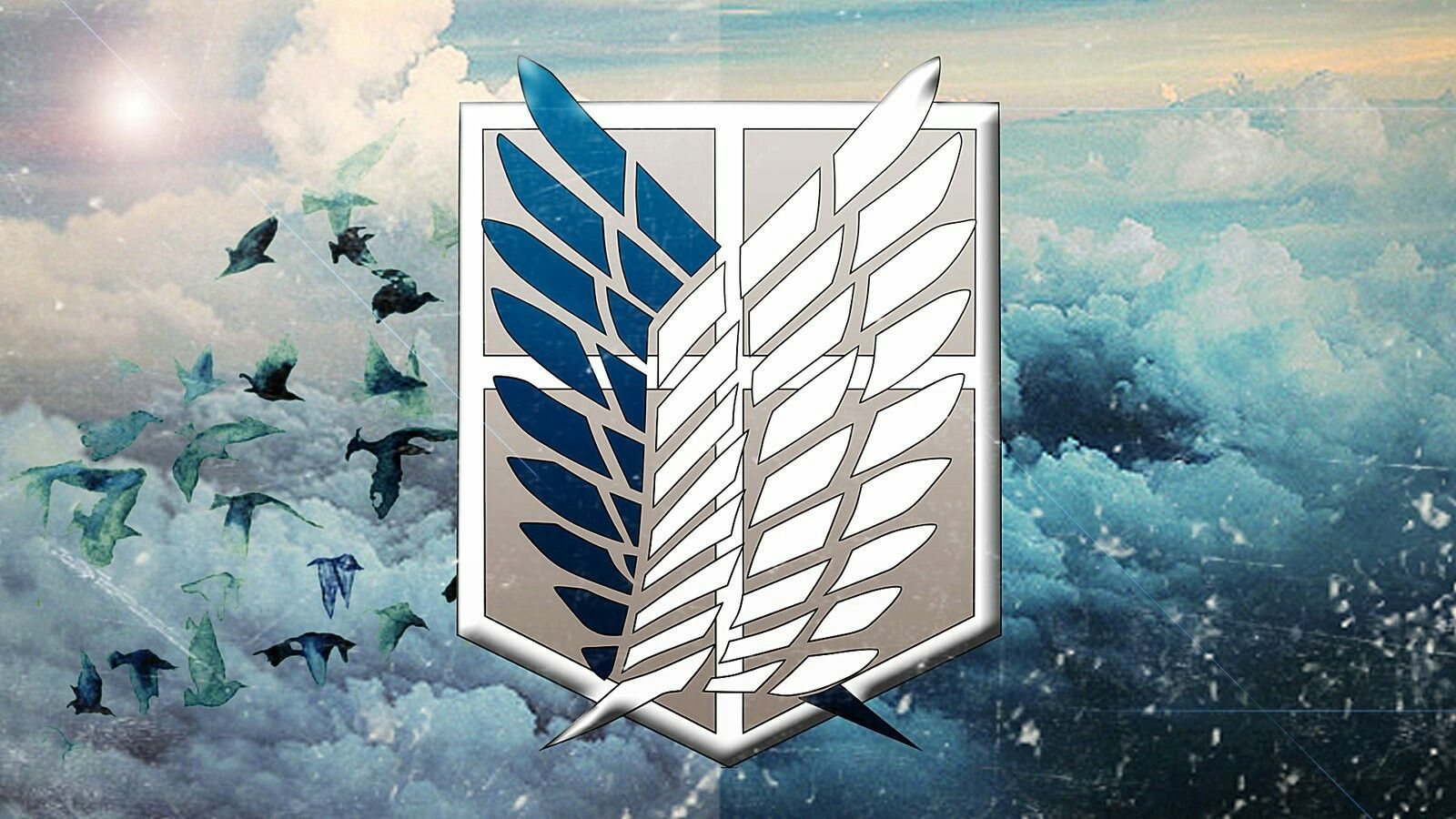 Les ailes de la liberté Snk | Fond d'écran ordinateur, Attaque des titans, Manga attaque des titans