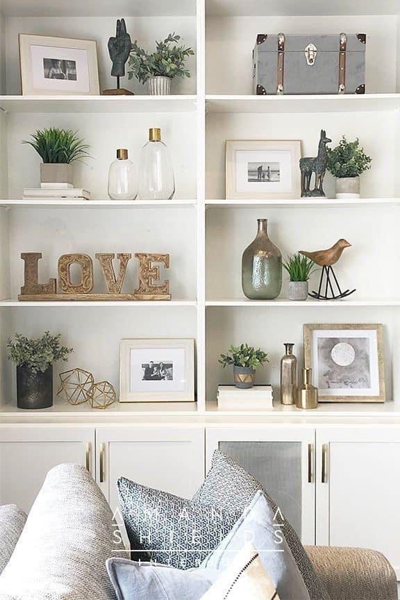 Dining Room Shelves