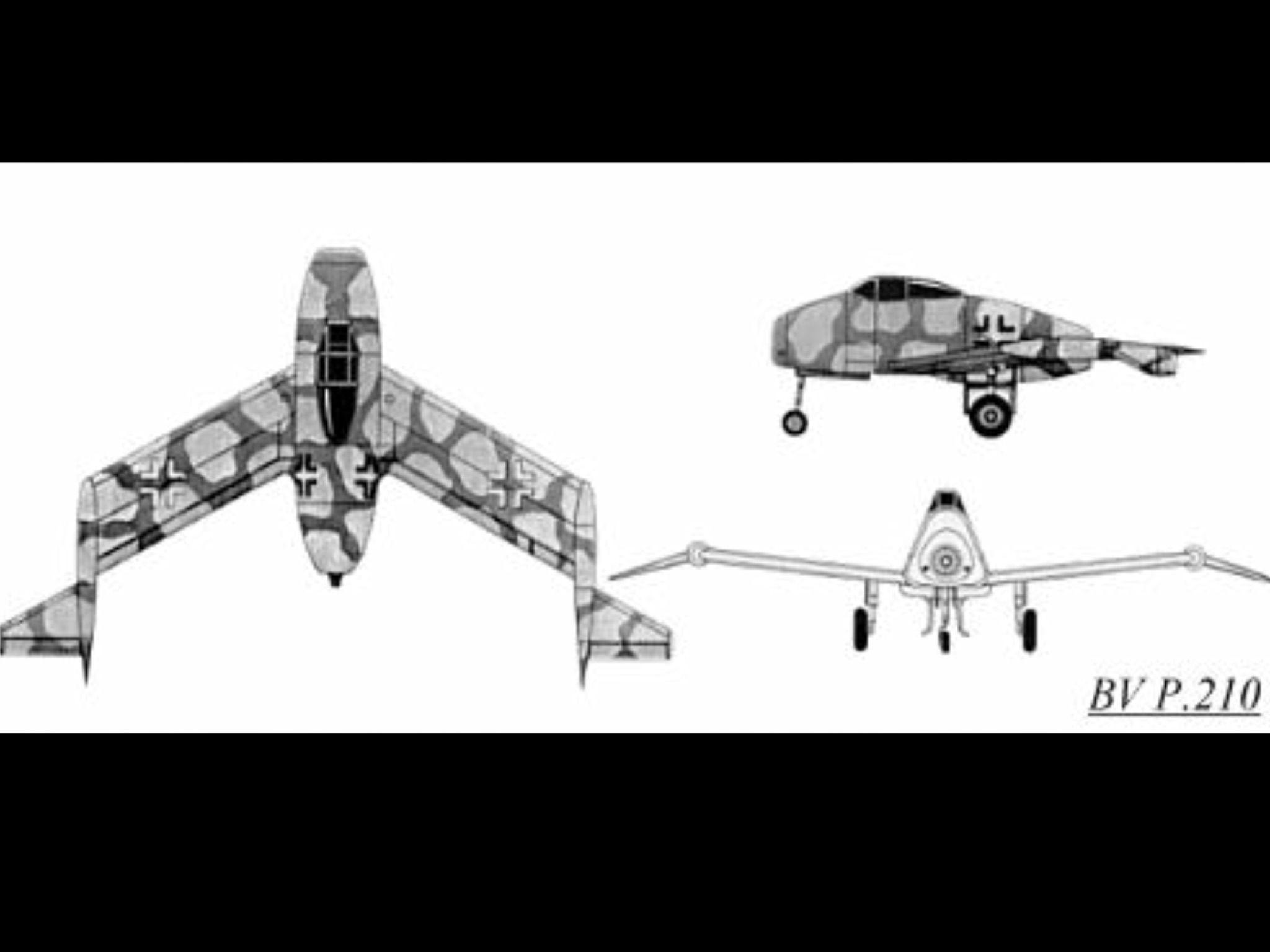 Blohm Und Voss Bv P 210 Fighter Concept