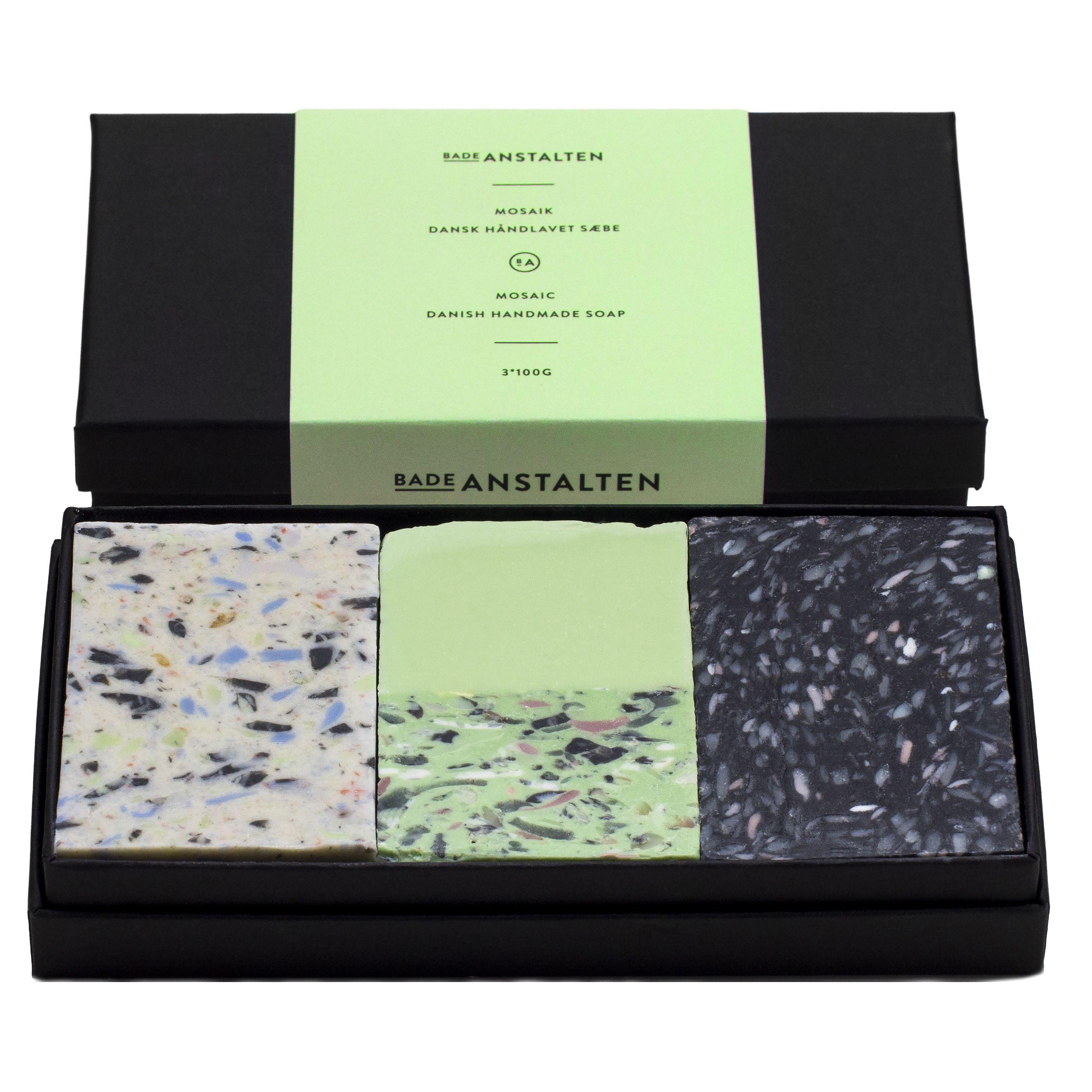 Mosaic Danish Handmade soap Mint