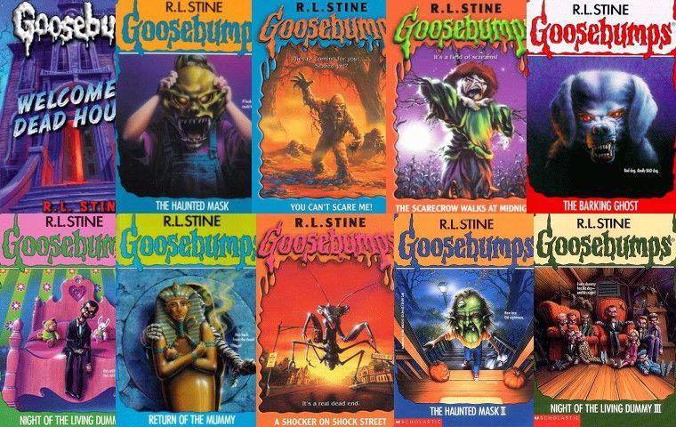 Rl Stine Goosebumps Book 1 40 Pdf Ebook Books Pinterest