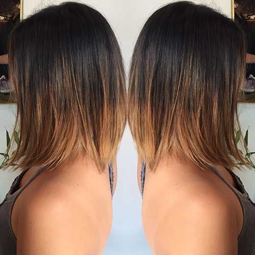 20 Brunette Bob Hairstyles Bob Haircut And Hairstyle Ideas Hair Styles Balayage Brunette Ombre Bob Hair