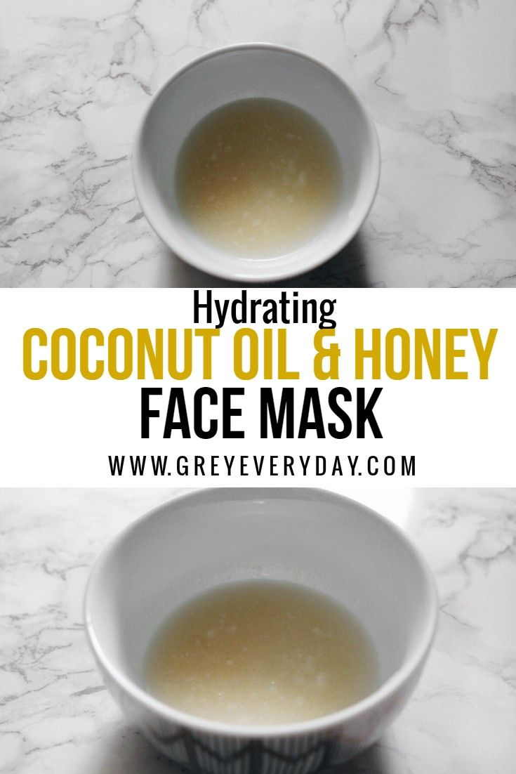 Coconut oil honey face mask honey face mask hydrating