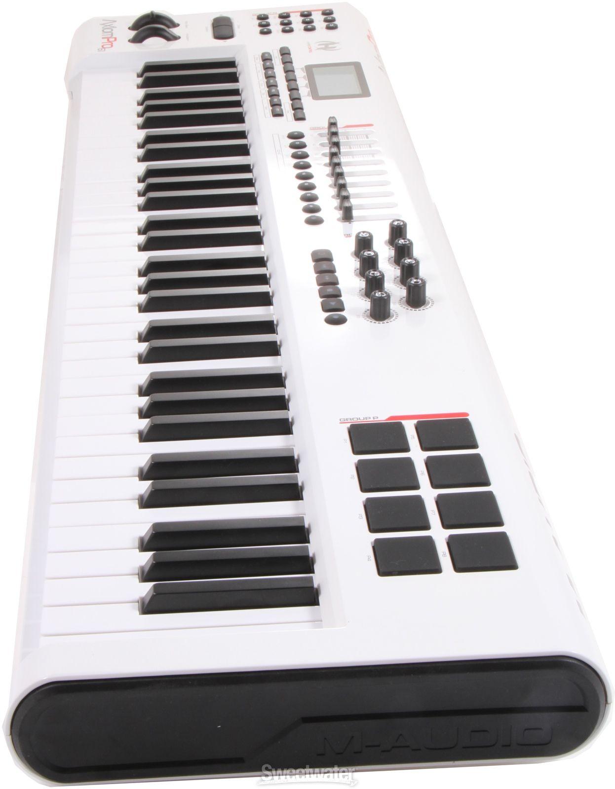 M Audio Code 61 61 Key Keyboard Controller M Audio Keyboard 61