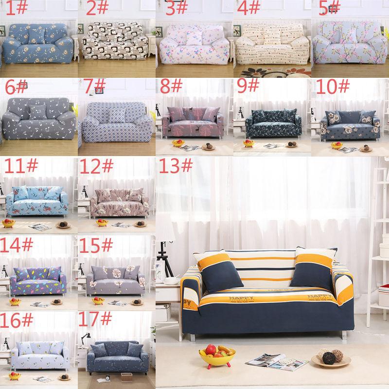 1 2 3 4Seater L Shape Elastic Sofa Cover Plush Stretch ...