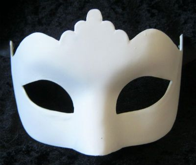 White Masks To Decorate Blank Venetian Mask Plain Mask From Venice For Decoration At Home