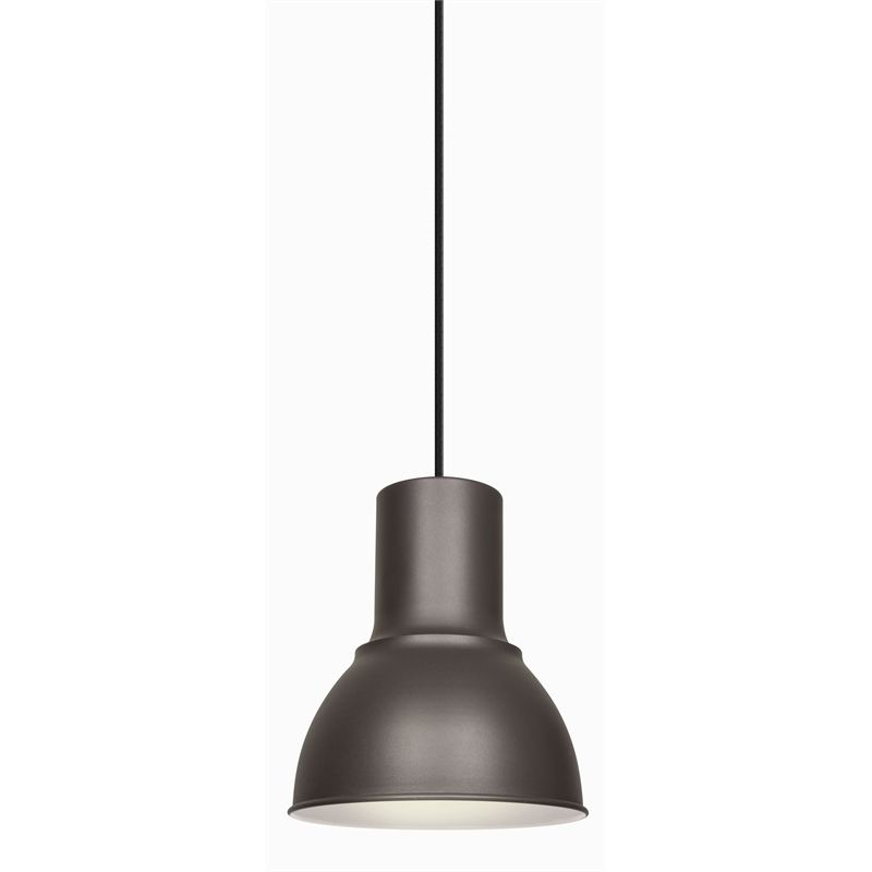 13 Brilliant Kitchen Lighting Ideas: Brilliant 240V 42W 23cm Hugo Charcoal Pendant Light