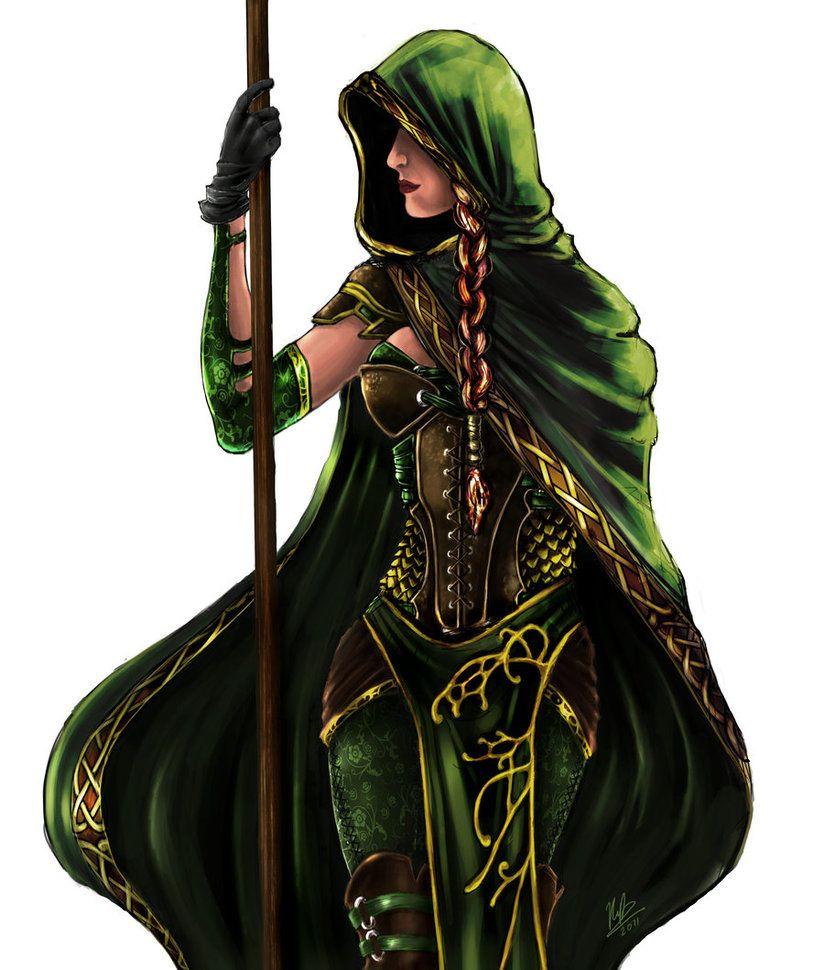 irish naked female warrior