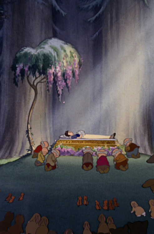 Snow White And The Seven Dwarf S 1937 After Being