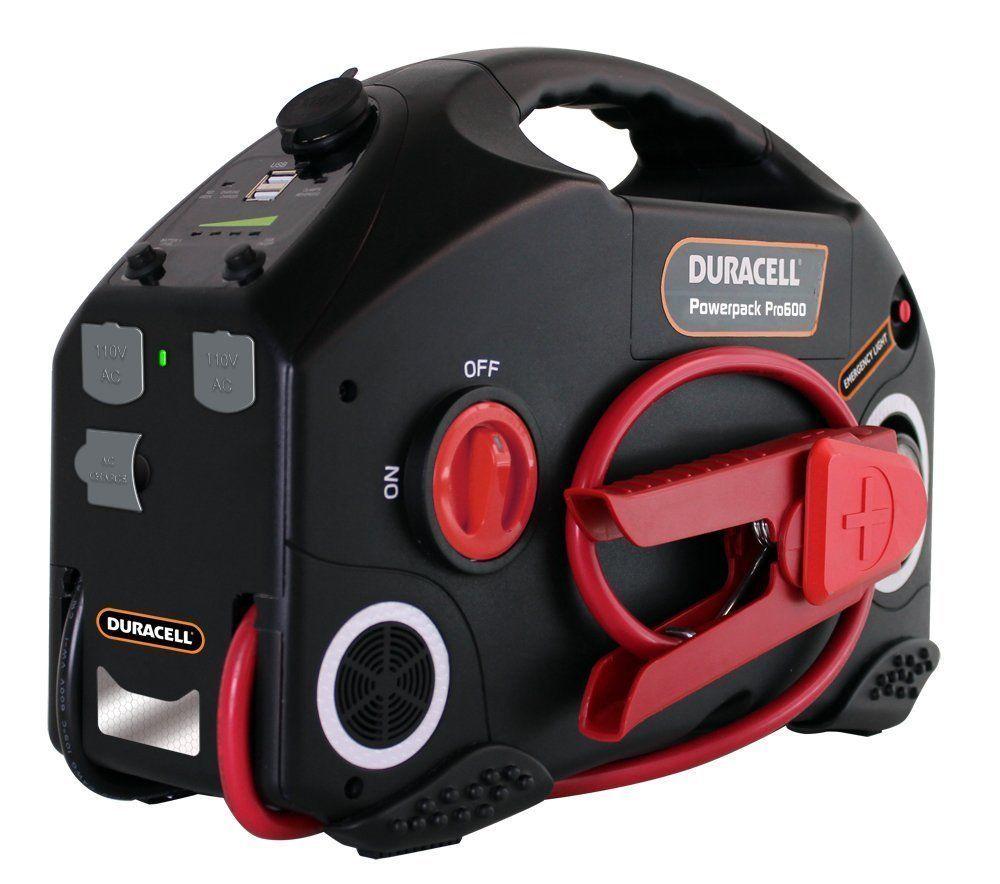 NEW Duracell 600 Watt Powerpack Pro 1300 JumpStarter and