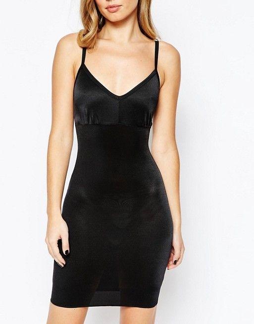 c3f0e461e836d Vestido largo de encaje en negro Piper de Body Frock