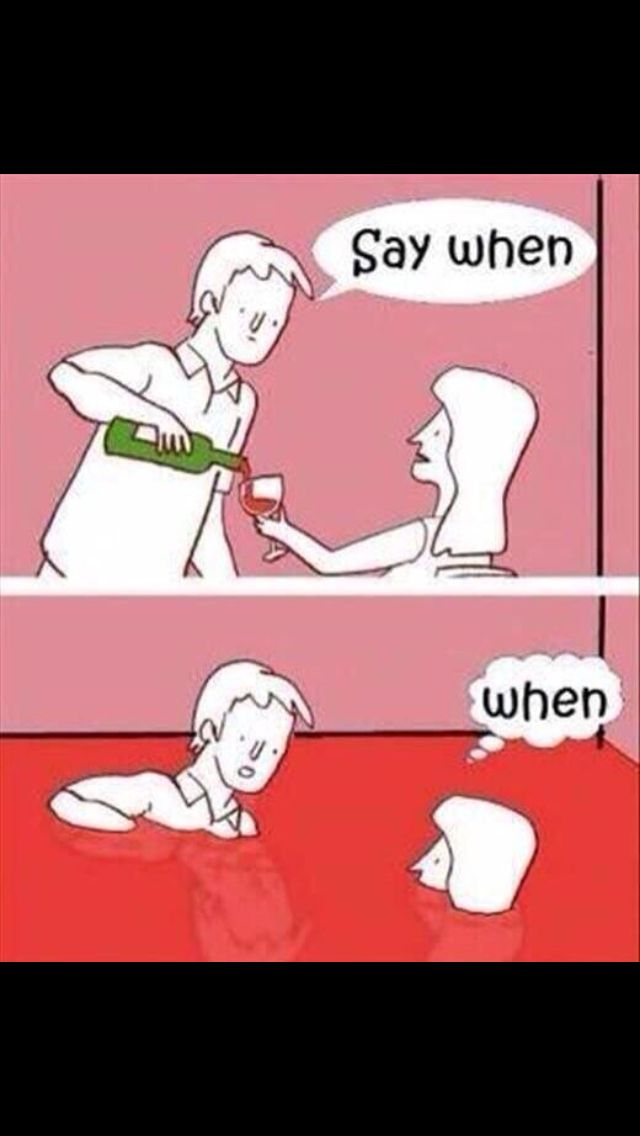 When To Stop Wine Funny Wine Pictures Funny Cartoon Funny Pictures