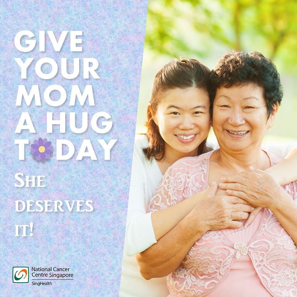 From all of us here Happy Mother's Day!  by nationalcancercentresg