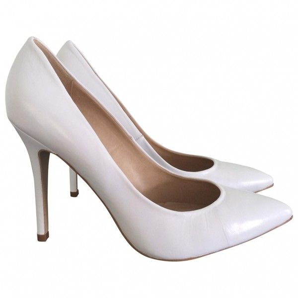 Pre-owned TOPSHOP White Leather Heels