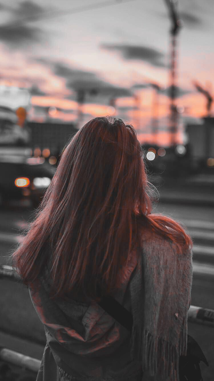 Wallpaper iphone for girl -  Sunset Iphone Wallpaper Girl