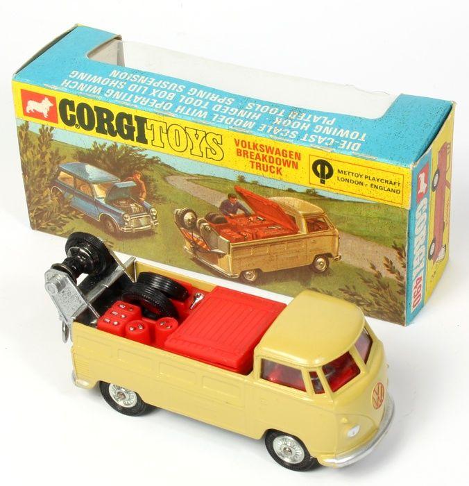 Corgi Toys VW Breakdown very rare window box variant