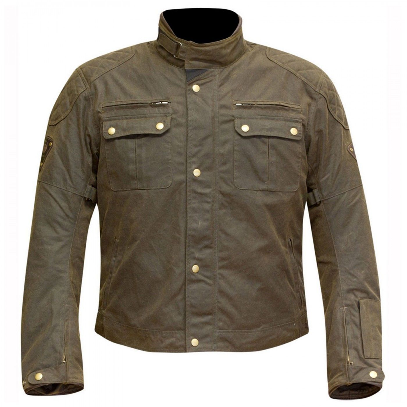 1adb21662f5 Merlin - Sandon Wax Olive - Le shop 4h10 Motorcycle Outfit