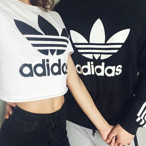 adidas couple shirt