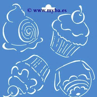 Stencil plantillas para cocina buscar con google for Plantillas de cocina