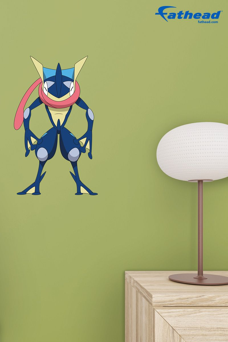 Pokemon Bedroom Decor Greninja Teammate Vinyls Boy Girl Bedroom And Kid