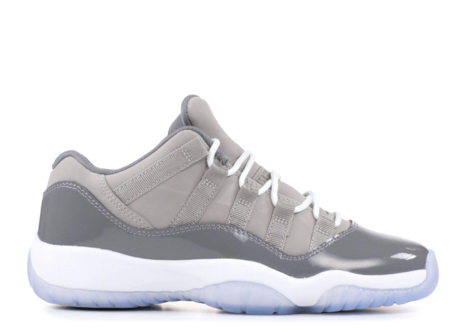 Air Jordan 11 Retro Low Bg Cool Grey Air Jordan 528896 003 Medium Grey White Gunsmoke In 2020 Jordan Shoes Girls Air Jordans White Nike Shoes