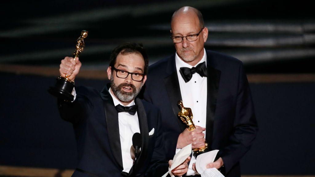Ford V Ferrari Editing Duo Celebrate First Oscar Wins Thank
