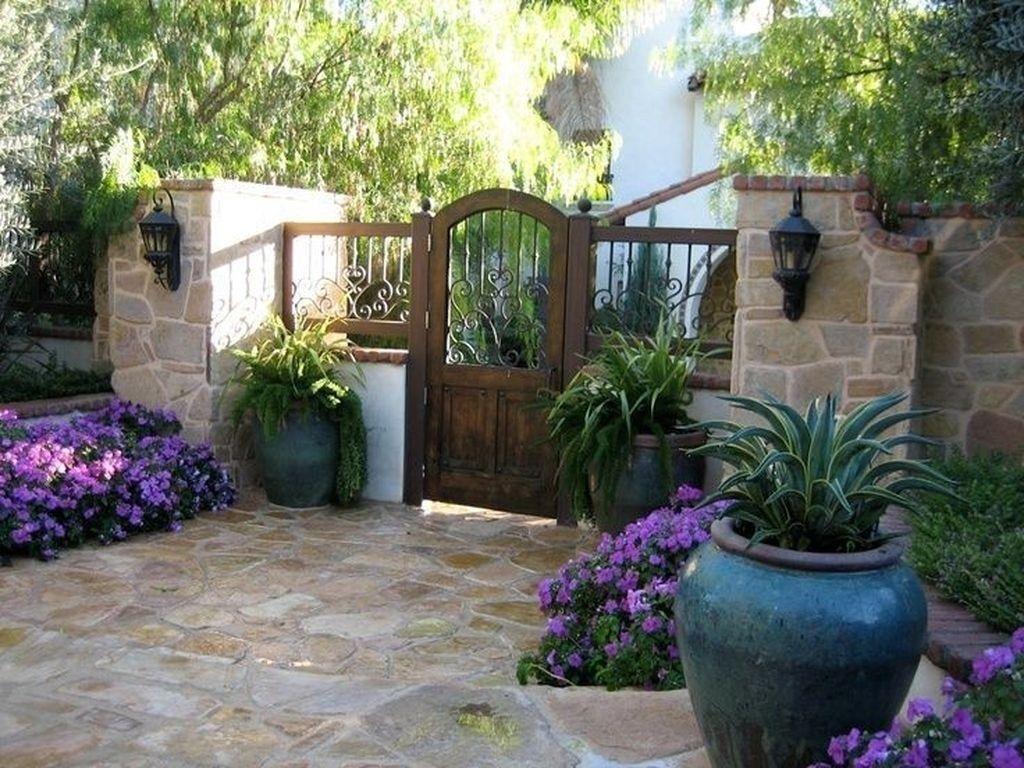 Adorable Mediterranean Garden Design Ideas For Backyard 48 ...