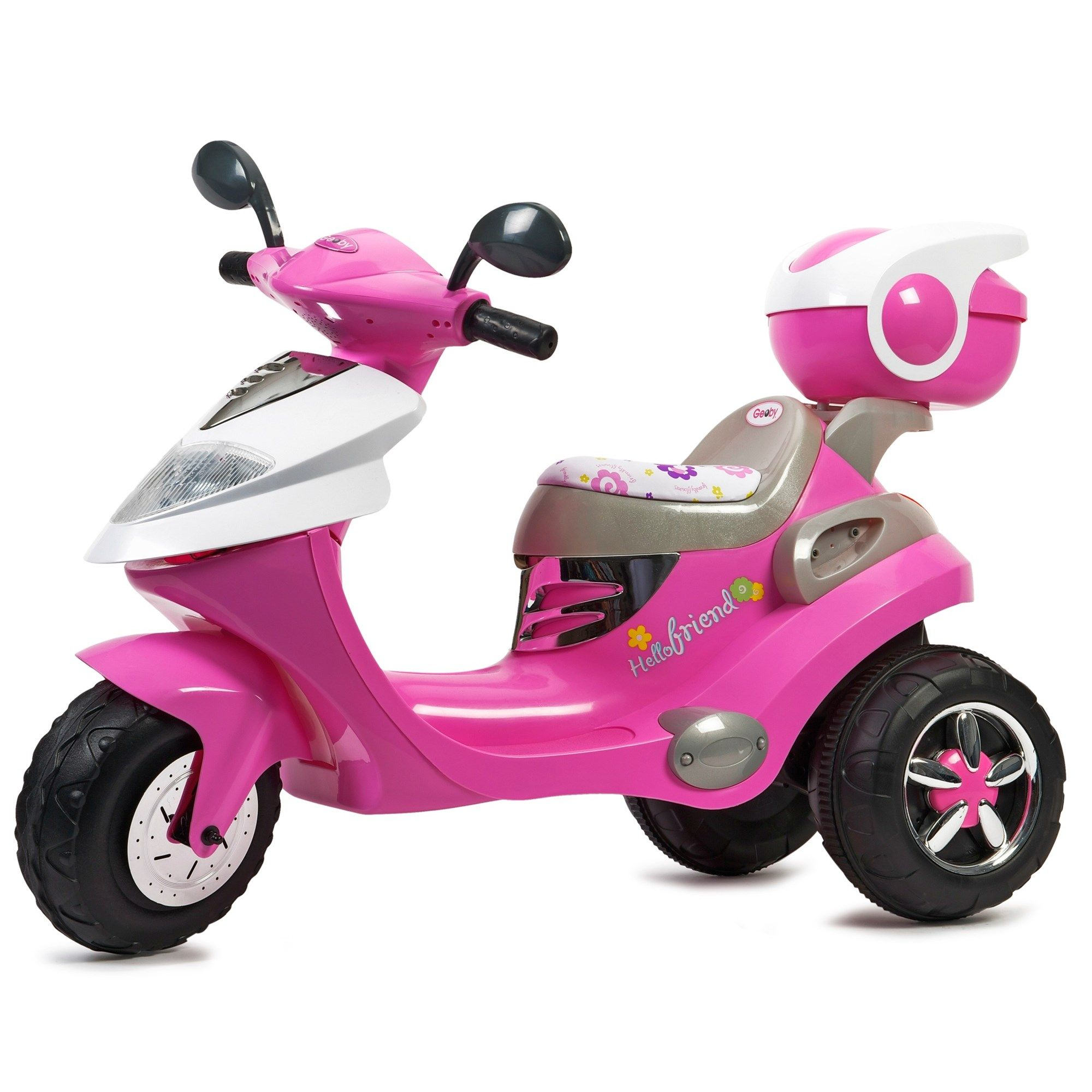 Pink electric scooter image 7 want this pinterest for Motorized scooter for kids