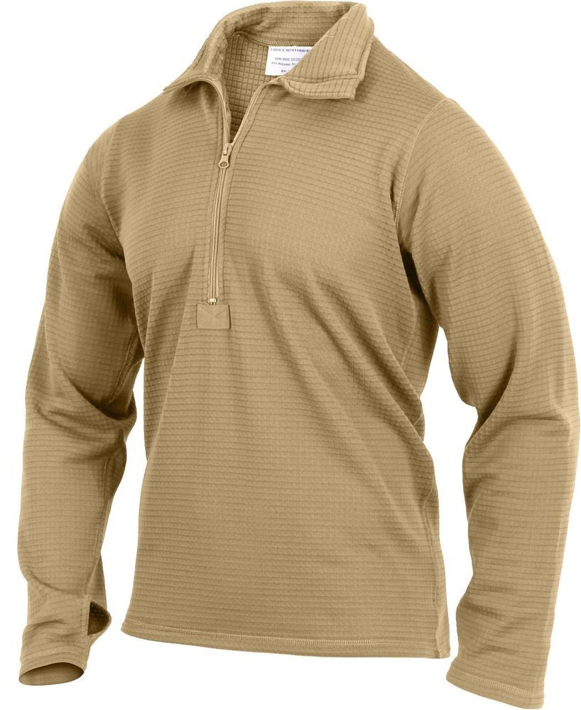 Coyote Brown AR 670-1 Compliant Gen III ECWCS Waffle Top Thermal Underwear   ArmyUniverse  Thermals df8bd017b38