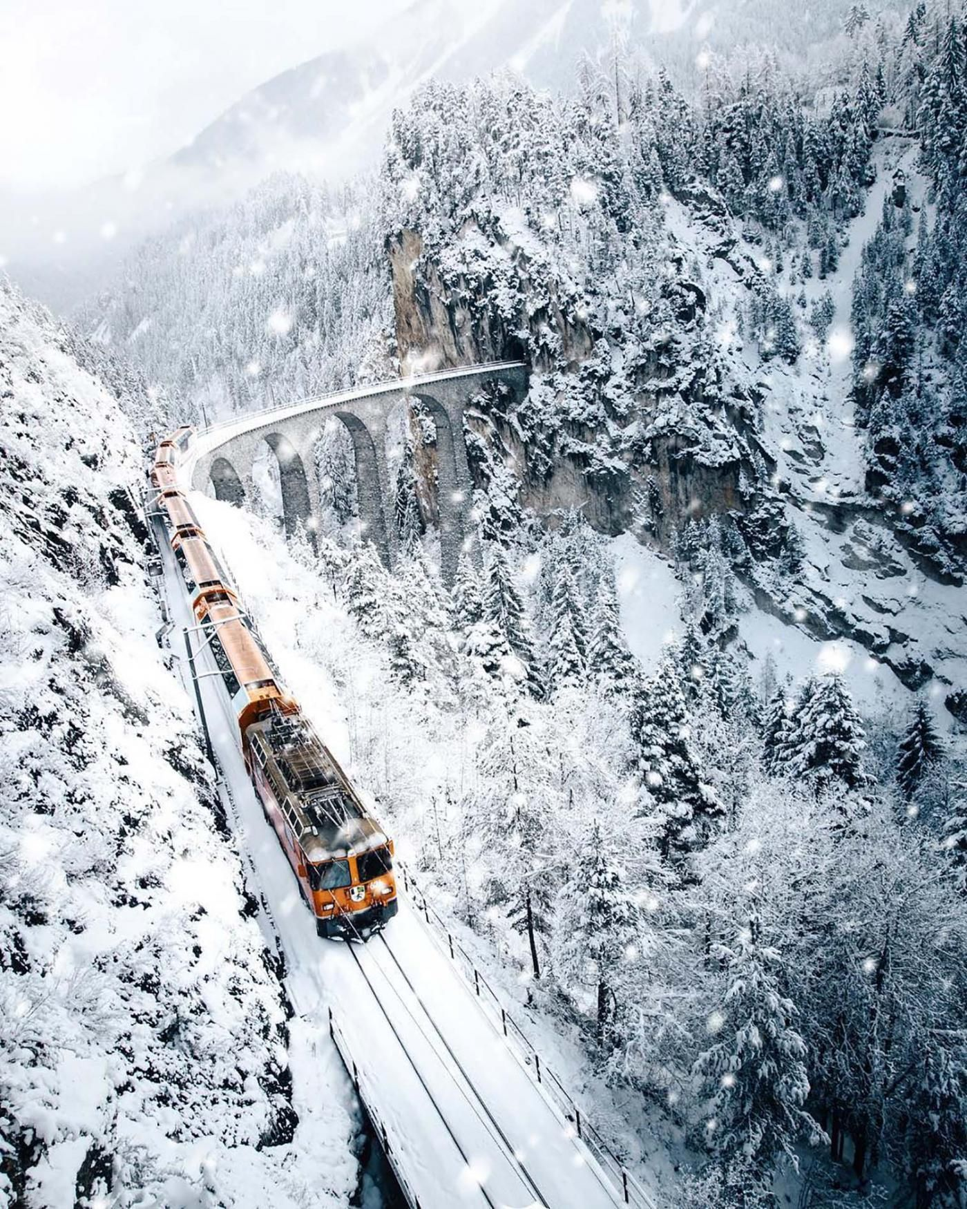 Train Trip Across Usa: We Can Hardly Believe This Train Ride Through The Swiss