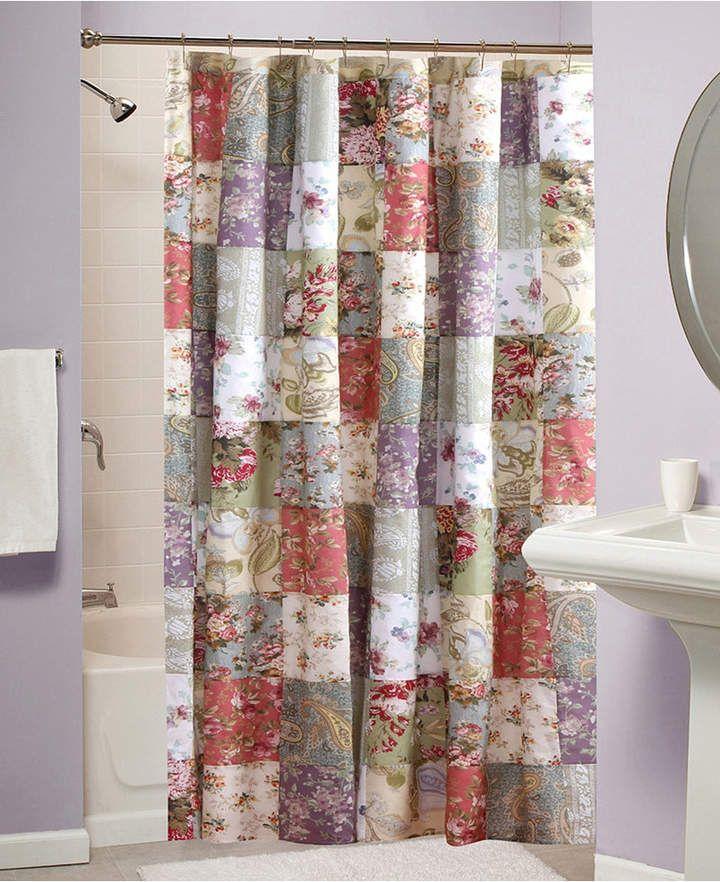 Greenland Home Fashions Blooming Prairie Bath Shower Curtain