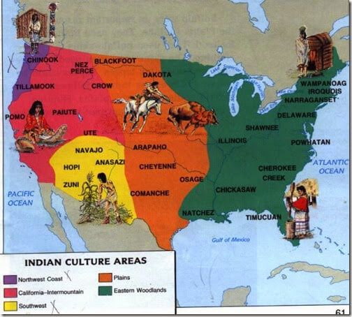 Native American Woodland Tribes Lesson #nativeamericanindians