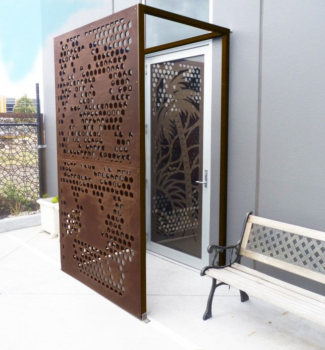 Metal Privacy Screen decorative screens, garden and privacy screens wellington