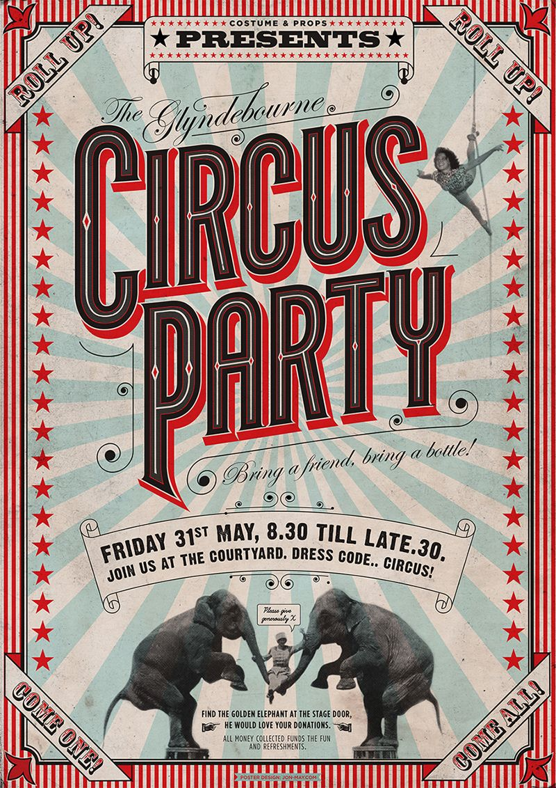 design Vintage circus
