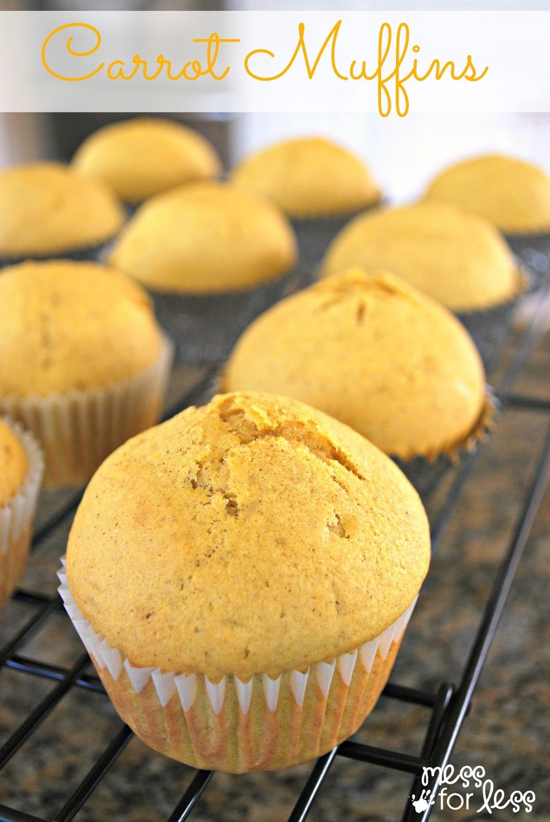 Carrot Muffin Recipe for Kids